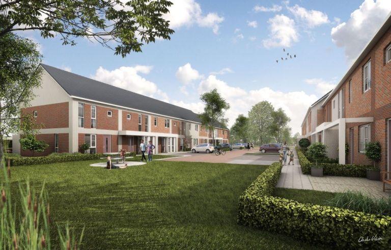 20 woningen van Reinbouw, start bouw begin 2015