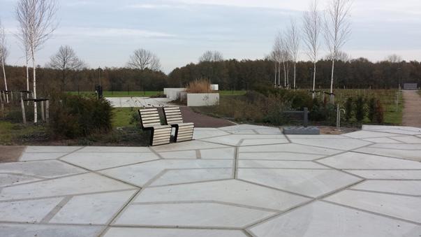 Eerste plein, begraafplaats Maassluis