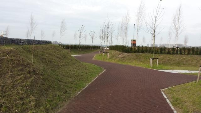 Centrale route begraafplaats Maassluis